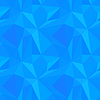 Vektor Cliparts: Abstract blue Triangulated Muster