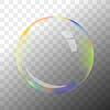 Vektor Cliparts: Transparente Seifenblase