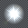 Vektor Cliparts: Lens Flare Strahl auf transparentem Hintergrund
