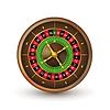 Realistische Casino-Roulette-Rad