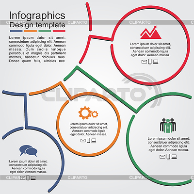 Infographic microsoft template
