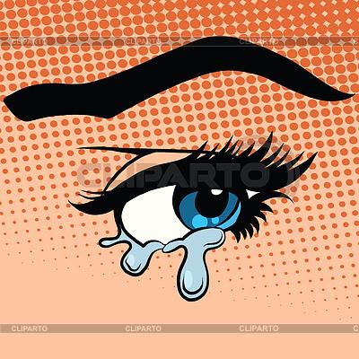 Глаза плачущие фото