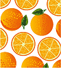 Vector clipart: Orange decorative pattern is insulated