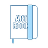 Vector clipart: Sketch Book Icon