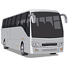 Vector clipart: passenger city bus