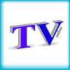 Vector clipart: TV sign with shadow
