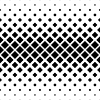 Vector clipart: Seamless monochrome square pattern