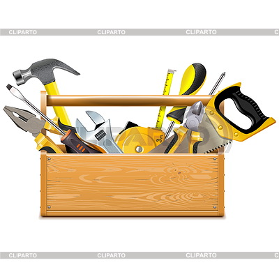Toolbox with Instruments | Stock Vector Graphics |ID 6180182